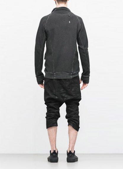 Boris Bidjan Saberi arcanism men zip sweater jacket ZIPPER1 archive green cotton pes hide m 5