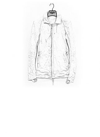 Boris Bidjan Saberi jacket J2 white kangaroo leather FW1718 hide m 1
