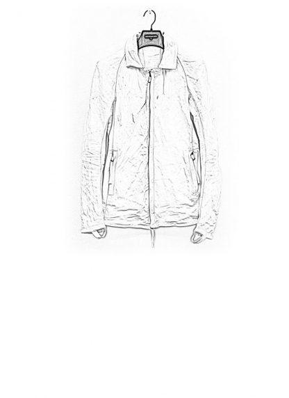 Boris Bidjan Saberi jacket J2 white kangaroo leather FW1718 hide m 1