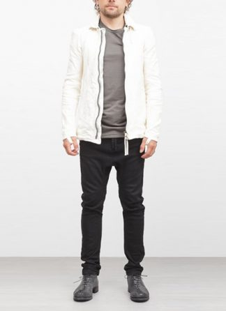 Boris Bidjan Saberi jacket J2 white kangaroo leather FW1718 hide m 2