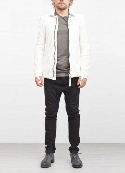 Boris Bidjan Saberi jacket J2 white kangaroo leather FW1718 hide m 2