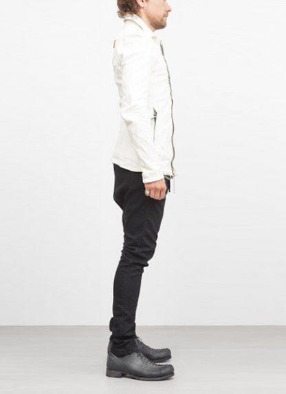 Boris Bidjan Saberi jacket J2 white kangaroo leather FW1718 hide m 4