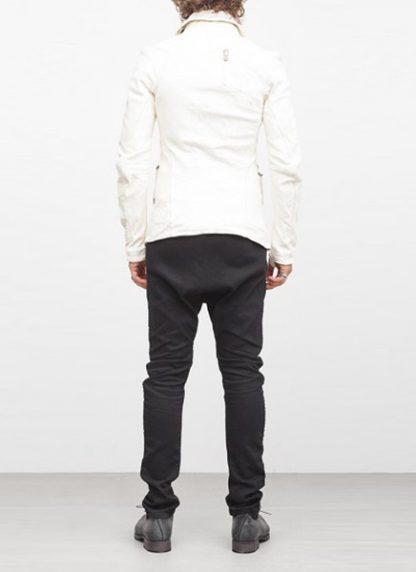 Boris Bidjan Saberi jacket J2 white kangaroo leather FW1718 hide m 5