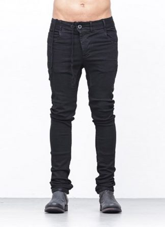 Boris Bidjan Saberi men arcanism pants P13TF black co ea hide m 2