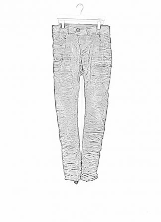 Boris Bidjan Saberi men pants P13TF roots patina grey F177 hide m 1 1
