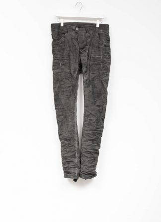 Boris Bidjan Saberi men pants P13TF roots patina grey F177 hide m 2 1