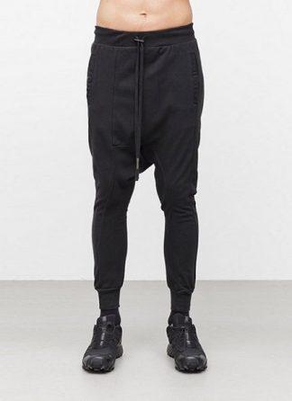 Boris Bidjan Saberi men pants longjohn2 cotton eu black hide m 2
