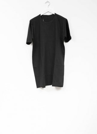 Boris Bidjan Saberi roots men one piece ts oversize tshirt black cotton F035 hide m 2