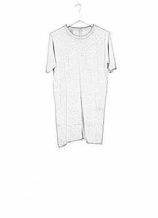 Boris Bidjan Saberi roots men one piece ts oversize tshirt dirty grey cotton F035 hide m 1
