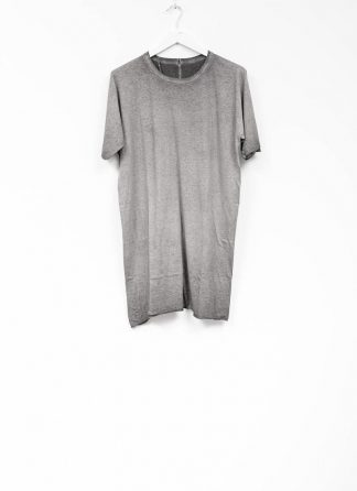 Boris Bidjan Saberi roots men one piece ts oversize tshirt dirty grey cotton F035 hide m 2