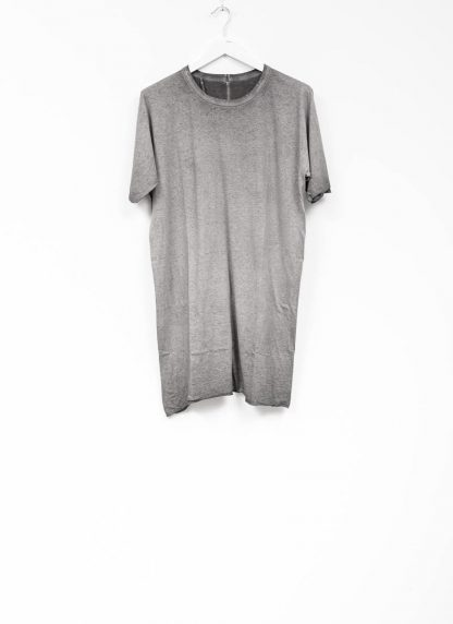 Boris Bidjan Saberi roots men one piece ts oversize tshirt dirty grey cotton F035 hide m 2