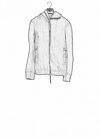 Boris Bidjan Saberi roots men zip jacket ZIPPER22 black FTM10001 hide m 1
