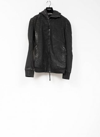 Boris Bidjan Saberi roots men zip jacket ZIPPER22 black FTM10001 hide m 2