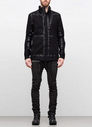 Boris Bidjan Saberi ss19 reversible jacket outdoor4 cotton F1504B black hide m 2