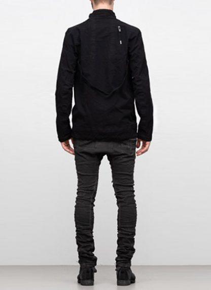 Boris Bidjan Saberi ss19 reversible jacket outdoor4 cotton F1504B black hide m 6