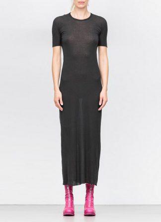 Boris Bidjan Saberi women dress WDRESS3 black cotton hide m 2