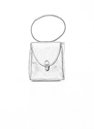 Cherevichkiotvichki women 51SS19 mini rectangular lock bag calf nubuck leather red uneven hide m 1