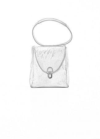 Cherevichkiotvichki women 51SS19 mini rectangular lock bag horse culatta leather natural brown hide m 1