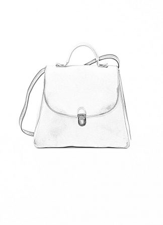 Cherevichkiotvichki women 52SS19 B small lock bag bleached calf leather dirty white hide m 1