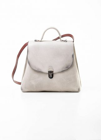 Cherevichkiotvichki women 52SS19 B small lock bag bleached calf leather dirty white hide m 2