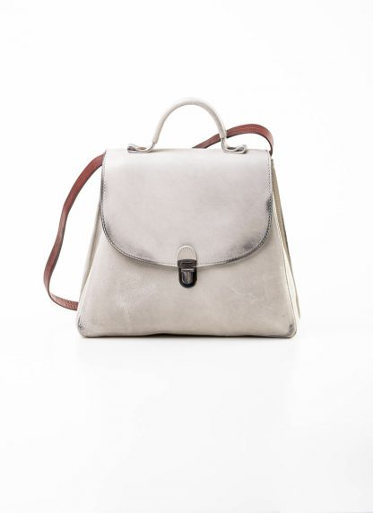 Cherevichkiotvichki women 52SS19 B small lock bag bleached calf leather dirty white hide m 2