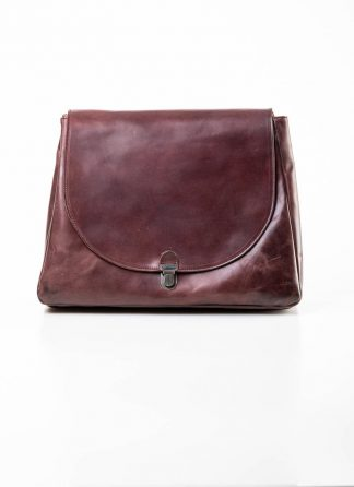 Cherevichkiotvichki women 56SS19 large lock bag tasche with one handle strap calf nubuck leather dark red hide m 2