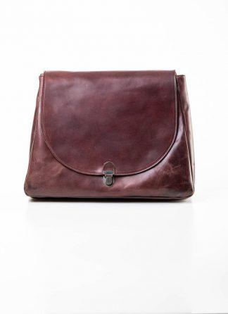 Cherevichkiotvichki women 56SS19 large lock bag tasche with one handle strap calf nubuck leather dark red hide m 2