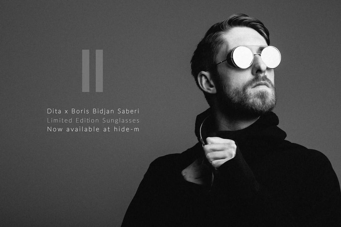 DITAxBBS editorial Boris Bidjan Saberi limited edition sun glasses hide m 07