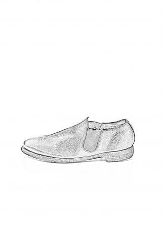 GUIDI men classic slipper derby shoe 109 herren schuh goodyear horse full grain leather black hide m 1