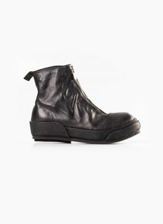 Guidi women front zip boot shoe PLS black horse full grain leather hide m 2