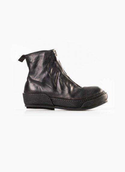 Guidi women front zip boot shoe PLS black horse full grain leather hide m 2