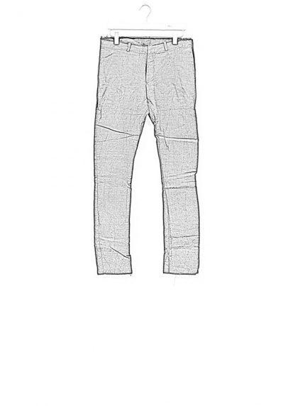 IE ERIK OHRSTROM continuous lined pants trousers hose CONTSTRS 2014 natural linen black hide m 1