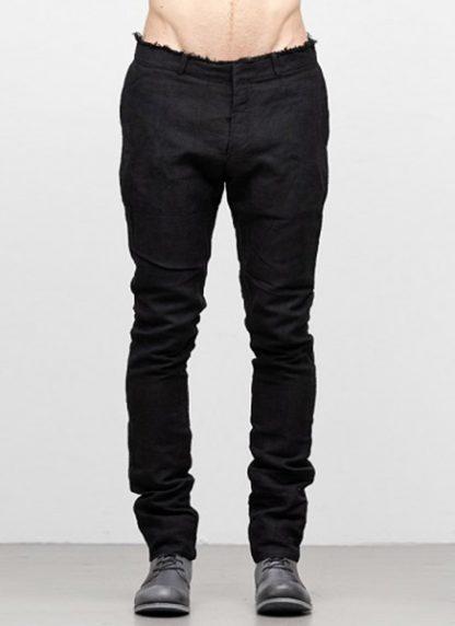 IE ERIK OHRSTROM continuous lined pants trousers hose CONTSTRS 2014 natural linen black hide m 2
