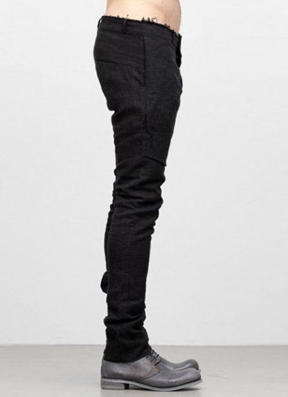 IE ERIK OHRSTROM continuous lined pants trousers hose CONTSTRS 2014 natural linen black hide m 3