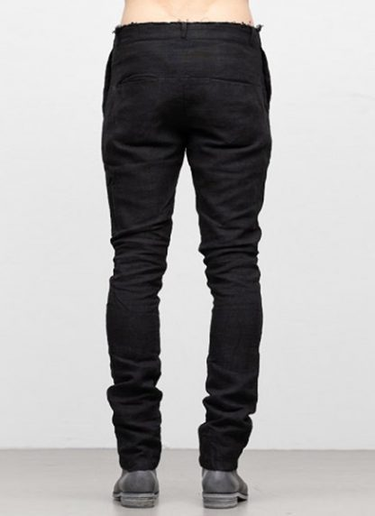 IE ERIK OHRSTROM continuous lined pants trousers hose CONTSTRS 2014 natural linen black hide m 4