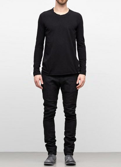 IE ERIK OHRSTROM continuous long sleeve tee tshirt CONCNLSTEE 2014 cotton black hide m 2