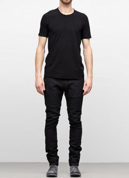 IE ERIK OHRSTROM continuous short sleeve tee tshirt CONCNSSTEE 2014 cotton black hide m 2