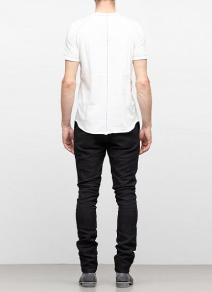 IE ERIK OHRSTROM continuous short sleeve tee tshirt CONCNSSTEE 2014 cotton white hide m 4
