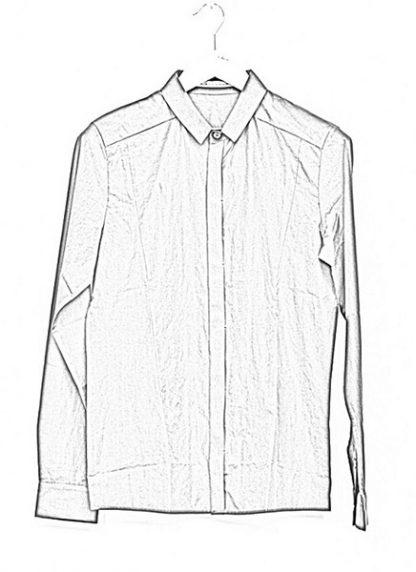 Individual Sentiments basic shirt ss18 black cotton hide m 1