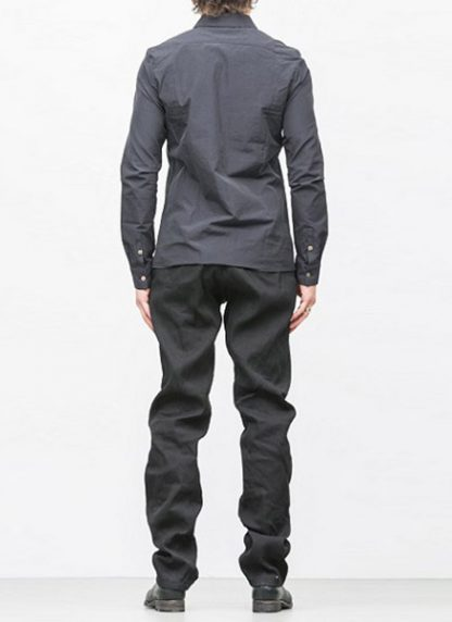Individual Sentiments basic shirt ss18 black cotton hide m 4