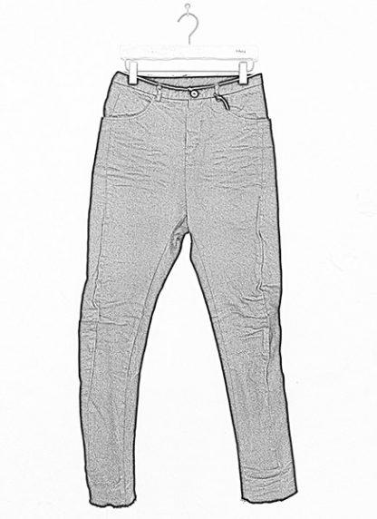 Individual Sentiments low crotch pants black japanese cotton hide m 1