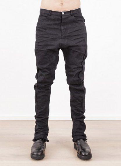 Individual Sentiments low crotch pants black japanese cotton hide m 2