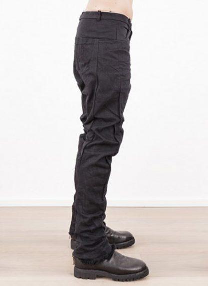 Individual Sentiments low crotch pants black japanese cotton hide m 3