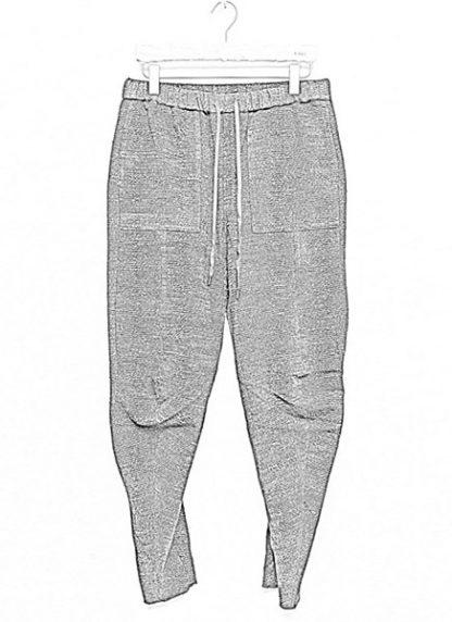 Individual Sentiments men 3D curve seam pants pa88 mw10 ac co wo ny pu navy black fw18 hide m 1