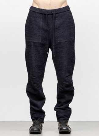 Individual Sentiments men 3D curve seam pants pa88 mw10 ac co wo ny pu navy black fw18 hide m 2