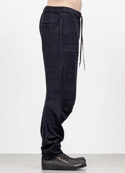 Individual Sentiments men 3D curve seam pants pa88 mw10 ac co wo ny pu navy black fw18 hide m 3