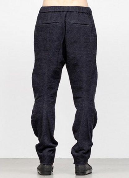 Individual Sentiments men 3D curve seam pants pa88 mw10 ac co wo ny pu navy black fw18 hide m 4