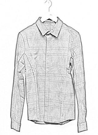 Individual Sentiments men classic basic button down shirt sh21 cli21 linen cotton wo ry ny black fw18 hide m 1