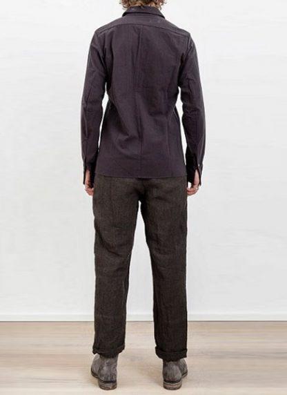 Individual Sentiments one pocket shirt black cotton ss17 hide m 4