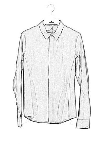 Individual Sentiments shirt fw1617 woven basic shirt cotton black hide m 1